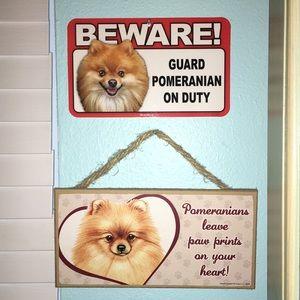 Other - Pomeranian Wall Decor Bundle